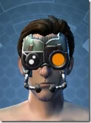 Battle Headguard - Male Front