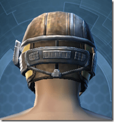 Brocart Cap - Male Back