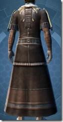 Brocart Coat - Male Back