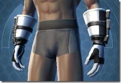 Dark Legionnaire Male Gauntlets