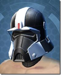 Dark Legionnaire Male Helmet