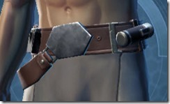 Elegant Duelist Male Belt