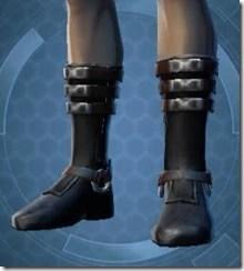 Elegant Duelist Male Boots