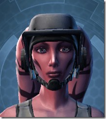 Flak Helmet MKII - Twi'lek Front