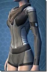 Guardsman's Chestguard - Female Left