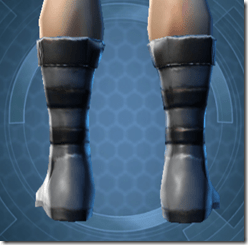 Indignation Boots - Male Back