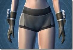 Indignation Handgear - Female Front