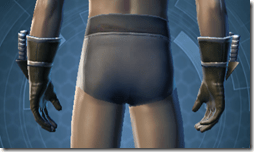 Indignation Handgear - Male Back