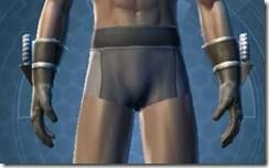 Indignation Handgear - Male Front