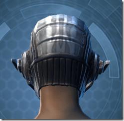 Indignation Headgear - Female Back