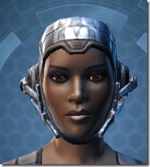 Indignation Headgear - Female Front
