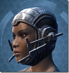 Indignation Headgear - Female Left
