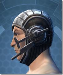 Indignation Headgear - Male Left