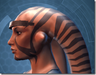 Indignation Headgear - Twi'lek Left