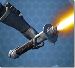 Initiate's Offhand Saber - Back
