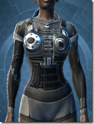 Plastoid Armor - Female Front
