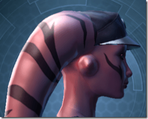 RD-03A Recon Headgear - Twi'lek Right
