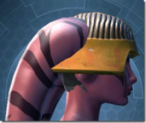 RD-13A Raider Helmet - Twi'lek Right