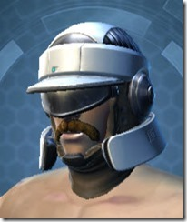 Rugged Infantry Male Helmet
