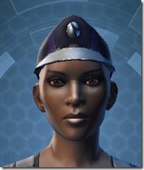 TD-03A Saboteur Headgear - Female Front