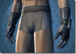 Trainee Male Gauntlets