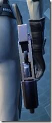 Trainee's Blaster Pistol - Stowed