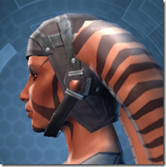 Trellised Helm - Twi'lek Left