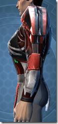 Advanced Composite Flex Body Armor - Male Left