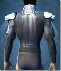 Avenger Chestguard - Male Back