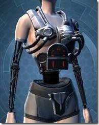 B-300 Cybernetic Female Breastplate