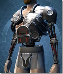 B-300 Cybernetic Male Breastplate
