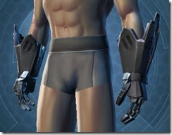B-300 Cybernetic Male Gauntlets