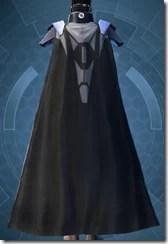 Composite Flex Body Armor - Female Back