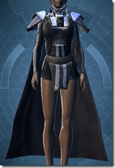 Composite Flex Body Armor - Female Front