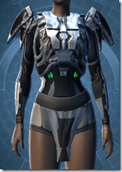 Concentrated Battle Chestguard - Female Front