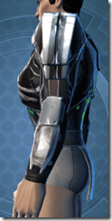 Concentrated Battle Chestguard - Male Left
