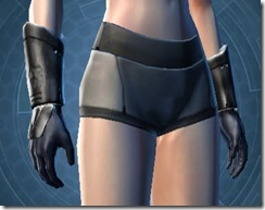 Energized Triumvirate Female Gauntlets