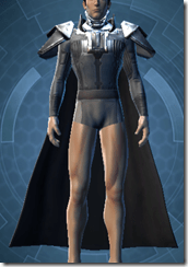 Memory Fiber Bady Armor - Male Front