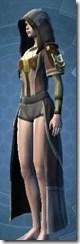 Ribbed Fiber Chestguard - Female Left