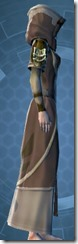 Ribbed Fiber Chestguard - Female Right