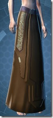 Armored Diplomat Female Lower Robe