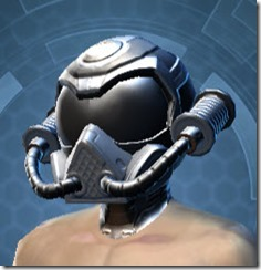 B-400 Cybernetic Male Helmet