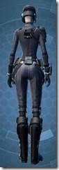 Intelligence Officer - Female Back