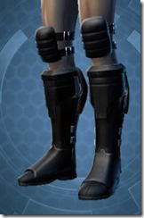 Intelligence Officer Male Boots