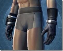 Intelligence Officer Male Gloves