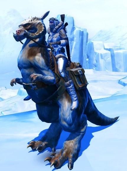 Kenzi-polar-tauntaun