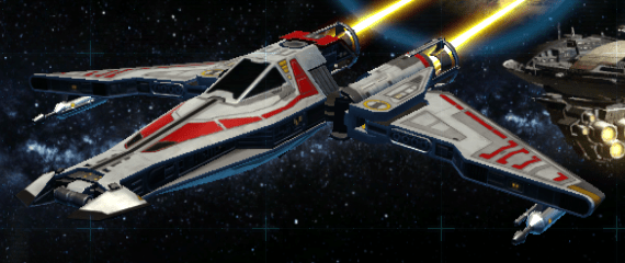 YR-02 Republic Scout Paint Job