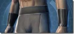 Armored Interrogator Male Bracers