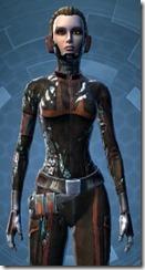 Battleworn Engineer - Female Close