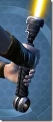 Vengeance's Unsealed Lightsaber - Back